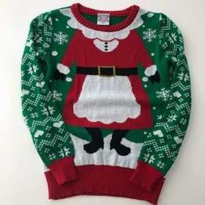 Well worn Christmas sweater holiday  sizeXS